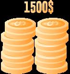 $1500 Deposit Bonus