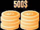 $500 Deposit Bonus