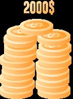 $2000 Deposit Bonus